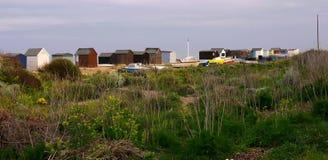 Spiaggia di Kingsdown vicino a Dover in Kent England Immagini Stock Libere da Diritti