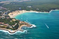 Spiaggia di Kiten, Bulgaria Immagini Stock