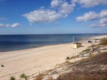Spiaggia di Klaipeda Immagini Stock Libere da Diritti