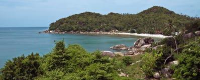 Spiaggia di Ko Pha Ngan Fotografia Stock Libera da Diritti