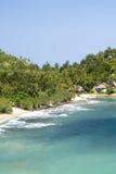 Spiaggia di Ko Pha Ngan, Tailandia Fotografia Stock Libera da Diritti