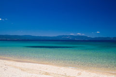 Spiaggia di Komitsa fotografia stock