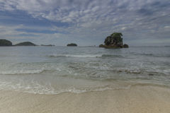 Spiaggia di Kondang Merak - Malang, Indonesia Fotografia Stock