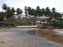 Spiaggia 2 di Kovalam Fotografia Stock Libera da Diritti