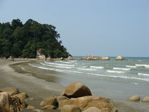 Spiaggia di Kuantan Immagine Stock Libera da Diritti
