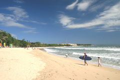 Spiaggia di Kuta Immagine Stock Libera da Diritti