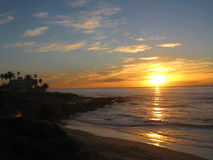 Spiaggia di La Jolla fotografia stock
