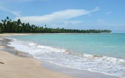 Spiaggia di Laje, Brasile Immagine Stock Libera da Diritti