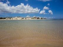 Spiaggia di Lamu, Kenya Immagini Stock Libere da Diritti