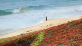 Spiaggia di Langee Fotografia Stock Libera da Diritti