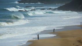 Spiaggia di Langee Immagini Stock