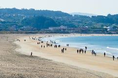 Spiaggia di Lanzada della La Fotografie Stock