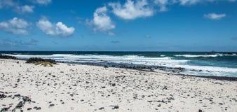 Spiaggia di Lanzarote Immagini Stock
