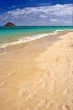 Spiaggia di Lenikei - Hawai Fotografia Stock