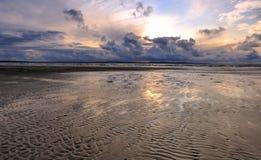 Spiaggia di LEnniscrone Immagine Stock Libera da Diritti