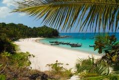 Spiaggia di libertà a Phuket, Tailandia fotografie stock libere da diritti