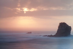 Spiaggia di Licin Fotografie Stock Libere da Diritti