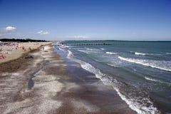 Spiaggia di Lido al Nord fotografia stock libera da diritti