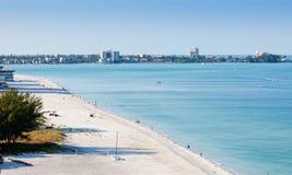 Spiaggia di Lido nel tasto di Siesta Immagini Stock