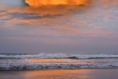 Spiaggia di Lingayen Fotografie Stock