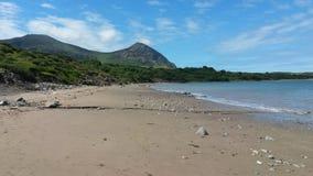Spiaggia di Lingua gallese Fotografia Stock