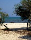 Spiaggia di Liopetria Immagini Stock