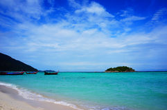 Spiaggia di Lipe del KOH Immagine Stock