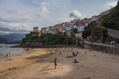 Spiaggia di Llastres Fotografia Stock Libera da Diritti