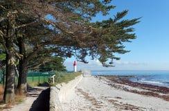 Spiaggia di Loctudy Fotografia Stock