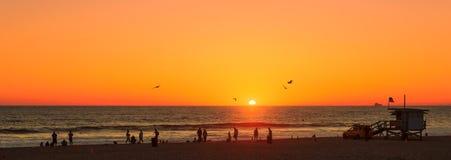 Spiaggia di Los Angeles Fotografia Stock Libera da Diritti
