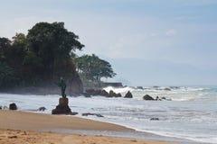 Spiaggia di Los Muertos fotografie stock
