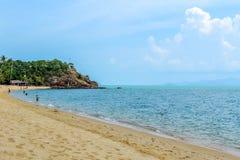 Spiaggia di Mae Nam in Koh Samui Thailand fotografie stock