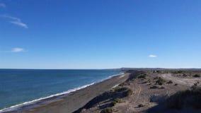 Spiaggia di Magagna Fotografie Stock