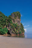 Spiaggia di MAI di Chao, sud della Tailandia immagini stock libere da diritti