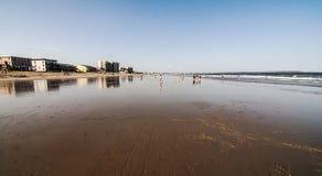 Spiaggia di Maine Fotografie Stock