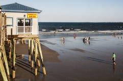 Spiaggia di Maine Fotografia Stock Libera da Diritti