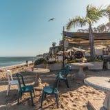 Spiaggia di Malibu Paradise fotografia stock