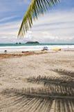 Spiaggia di Manuel Antonio Immagini Stock Libere da Diritti