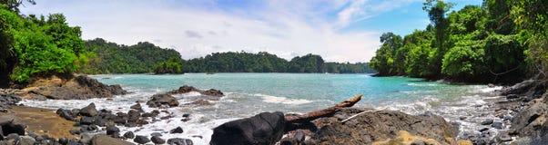 Spiaggia di Manuel Antonio, Costa Rica Immagini Stock Libere da Diritti