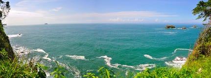 Spiaggia di Manuel Antonio, Costa Rica Fotografie Stock
