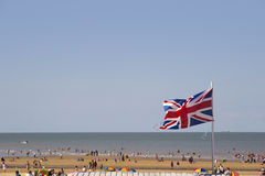 Spiaggia di Margate in Gran-Bretagna Fotografie Stock