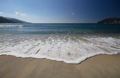 Spiaggia di marina di campo - Elba Fotografie Stock Libere da Diritti