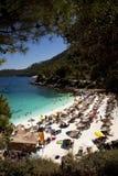 Spiaggia di marmo Immagine Stock Libera da Diritti