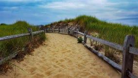 Spiaggia di Massachusetts immagine stock libera da diritti