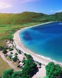 Spiaggia di Mawun Immagini Stock Libere da Diritti