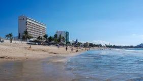 Spiaggia di Mazatlan Immagine Stock