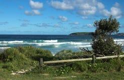 Spiaggia di McCauleys in Australia Fotografie Stock Libere da Diritti