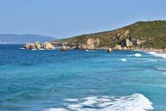 Spiaggia di Melani Immagini Stock