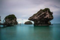 Spiaggia di Mirabu, Okinawa immagini stock