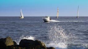 Spiaggia di Moana dell'ala, Honolulu, Hawai, U.S.A. Fotografia Stock Libera da Diritti